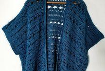 kimono crochet en inglés.  Fotos y explicación puntos