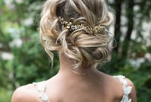 "DOs and dont's / The one question brides always get asked ""how are you going to do your hair?"" Here is some inspiration!"