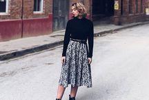 TAYLORED HEART Tonights OOTD  skirt - @j_essicaanne Boots - @zara Top - Thrift Shop