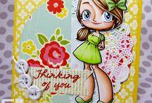 Cards I Love - Some Odd Girl / by Diana Blessinger