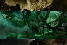 The Croods Environment