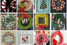 Christmas ideas, decor, wreaths