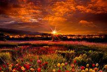 zapad-vychod slunce