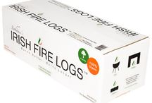Irish Fire Logs / Siobhán's Irish Fire Logs, Irish Firewood and Fire Go Boxes are a complete line of Irish peat products for indoor/outdoor fireplaces, chimineas, barbecues, fire pits and campfires. Our Irish peat briquettes and traditional Irish turf sods are a wonderful way to enjoy the warmth and aroma of genuine Irish peat.