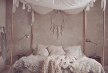 girly boho bedroom