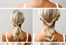 Easy Hairstyles / by Lauren Munro