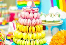 Rainbow ♡ Sweet Tables & Party Inspiration