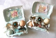 Altered Eggs & Cartons / by Artful Aileen