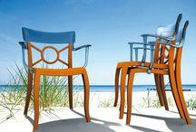 Plasticne stolice  / Moderne plastične stolice u ponudi Union Drva na www.uniondrvo.com