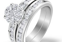 Bridal Sets / Just like you, our beautiful bridal ring sets are made for each other. Each features a stunning diamond engagement ring and a wedding band in matching designs, crafted for a flawless fit…