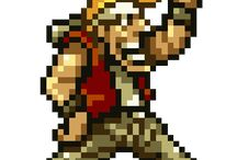 | METAL SLUG - PIXELART | / some animated (and not animated) sprites