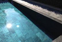Silver grey / Stone pool