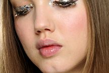 Make up / sparkle makeup