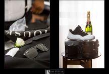 Groom Details / Ties, shoes, cufflinks, sunglasses, whiskey bottles, shot glasses, flasks, etc.