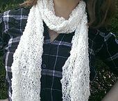 Crochet scarves-Βελονάκι κασκολ