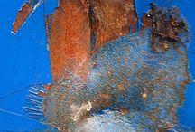 herrumbre azul
