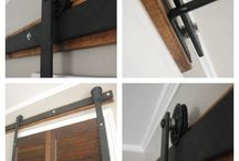 Barn door fittings