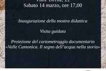 Eventi in Valle Camonica / Cosa succede nella Valle dei Segni? Ecco una selezione delle iniziative più interessanti che la cultura, lo sport, le associazioni e gli enti della Valle Camonica ci offrono.