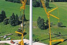 Cranes Windmills....