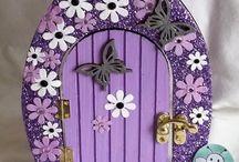 manó ajtó