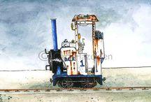 Narrow Guage Railway / by Josiah Robinson