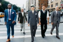 Sharp / Well-dressed men...                                                                                             *note: comments/captions are not my own unless I indicate so / by Reb