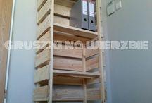 Gruszki na Wierzbie- pallets furniture