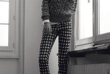 clothes: monochrome