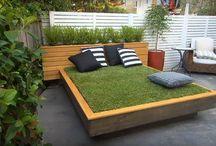 cama de pasto