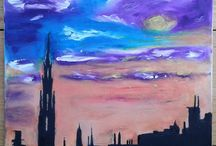 My paintings / Some of my oil and watercolour paintings, and pastel drawings