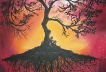 Výtvarná výchova - strom