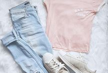 Pastel outfits
