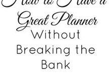 Planner Tips & Tricks