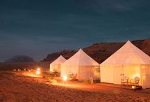 Glamping / Why go camping, when you can go glamping?