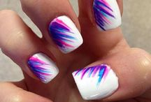 nails and beauty / nail art and makeup designs