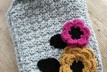 Hot Water Bottle Cosies / Crocheted or Knitted