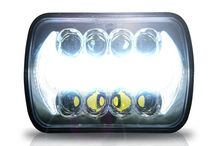 LED Headlights / Sealed Beam replacement LED headlamps such as 7 inch round, 5 3/4 inch round, 7x5 7x6, 4x6 and other LED lighting products and fog lamps.  www.genssiled.com