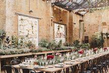 Industrial Wedding Inspirations