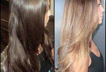 saç renk ve kesim