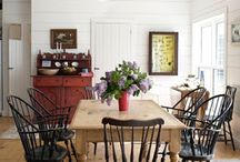 dinning room table chairs etc / by Patti Sizemore