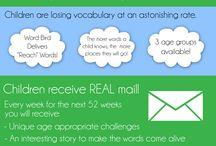 Building a child's vocabulary!