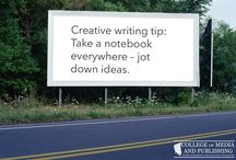 Creative writing tips / Handy creative writing tips from distance learning course provider, the College of Media and Publishing.
