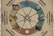 Wheel of the Year [*] / The cycles of the seasons as it relates to the cycles of life.  Charts and images that relate to all of the sabbats as a whole.