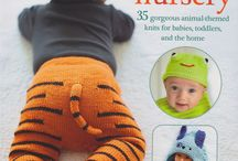 Knitted Animal Nursery / Knitted patterns for animal-themed items for babies and toddlers