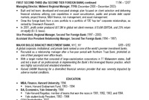 How to Transform a Resume - Part 7B / Transformed resume. Two page format - second page.