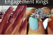 Rings / Wedding and engagement ring inspiration