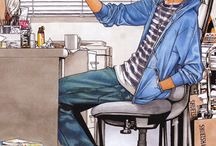 Избранное из разных аниме и манг