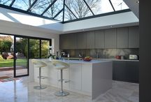 45 St Michaels / Client: Mr Colin Fisher Architect: Client Scope: Design/ Manufacture/ Installation Completion: July 2014 Finish: Lacquer (Matt) Worktop: Silestone Appliances: Miele   Wonderful refurbishment for Cambridge property http://www.kuchedesign.co.uk/projects/45-st-michaels