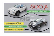 Fiat 500X / due occasioni imperdibili: Fiat 500X off road look Fiat 500X pop star