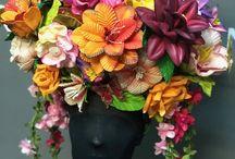 Headpieces / Cabeças e Adereços de Carnaval e Figurinos